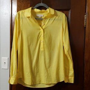 Yellow LOFT Blouse